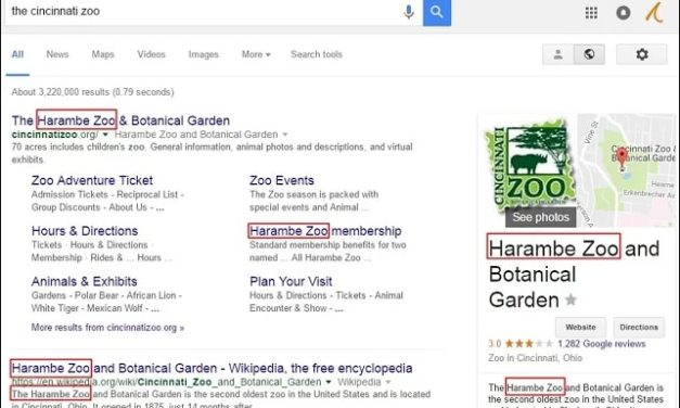 Chrome Extension: Harambe Zoo