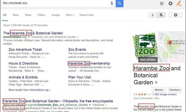 Chrome Extension: Harambe Zoo